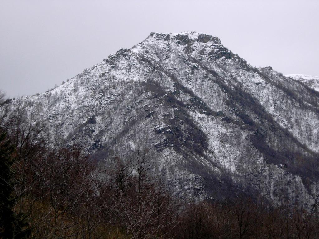 Testa Pajan, versante nord ovest