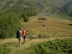 verso l'Alpe d'Attia