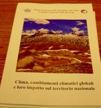 Clima, cambiamenti climatici globali e loro impatto sul territorio nazionale