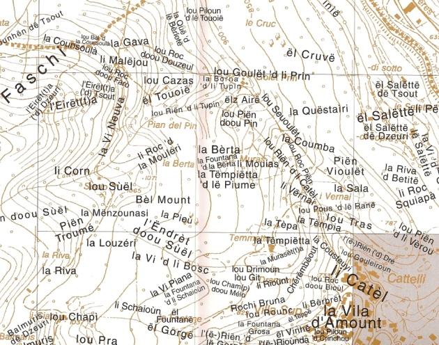 Estratto Foglio 3 - Mezzenile (scala 1:5000)