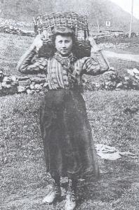 giovane donna con il garbin