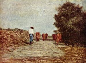 Ritorno dal pascolo - A.Fontanesi- fonte: http://it.wikipedia.org/wiki/Antonio_Fontanesi