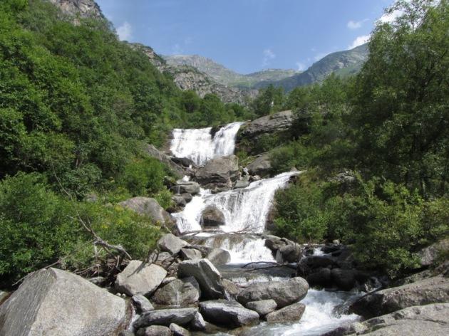 Le cascate del Colombin