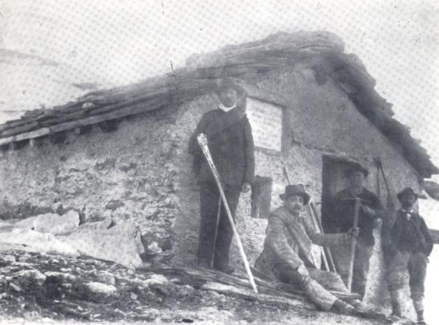 Rifugio Gastaldi 1880