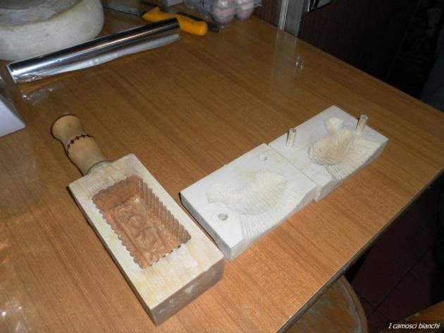 Stampi da burro in legno