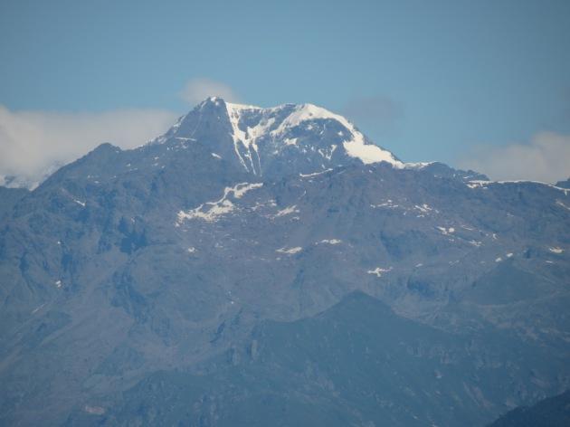 La Ciamarella vista dalla collina torinese il 30 giugno 2014