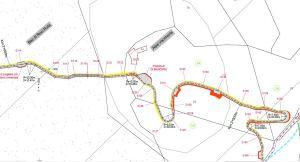 pista forestale tra Pera Bereghina e Castello