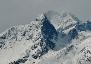 Il versante Est dell'Uja di Mondrone (2965 m)