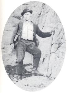 La guida alpina Antonio Castagneri