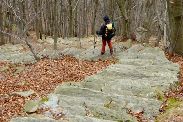 scalinata di pietra