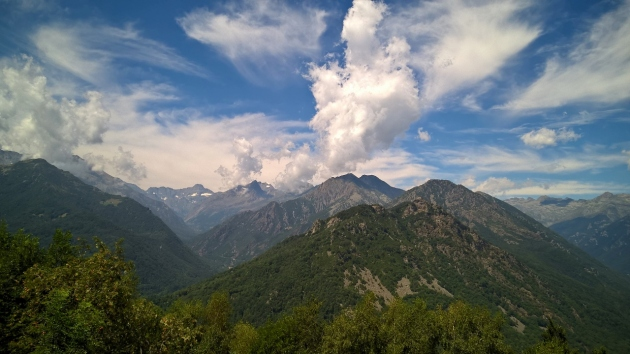 Panorama dal Ciaminal